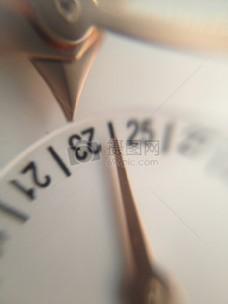 手表,日期,特写,查看,时间,宏