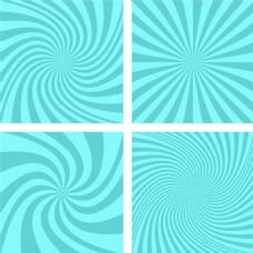漩涡放射图案背景图片