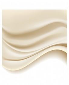 白色丝绸绸缎背景矢量素材