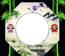 中国 国粹八边形 效果图