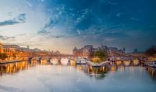 欧洲城市夜景摄影