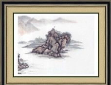 国画山水(画未分层)