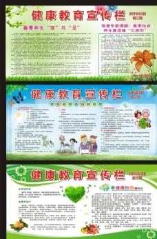 春季展板 春季健康教育宣传栏