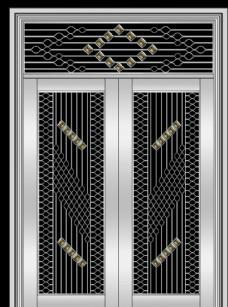 不锈钢门 氟碳漆门