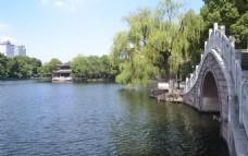 月湖花溪桥