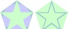 五角星的融合