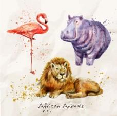 手繪野生動物