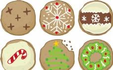 美味圣诞饼干矢量素材