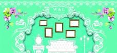 婚礼迎宾照片墙