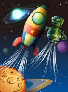 火箭宇宙飞船