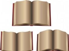 展开的书本