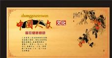 中国人文文化展板