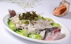 鲜花椒炝鲈鱼