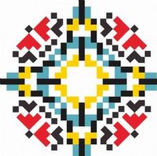 民族花纹图片 矢量图