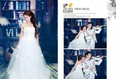 室内婚纱模版