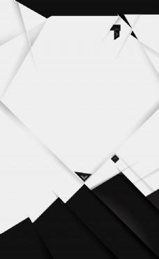 黑白极简网页