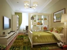 卧室装饰效果高清图片