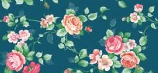 唯美浪漫花朵背景