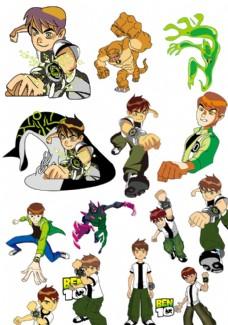 ben10 地球保卫者 卡通图