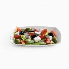 高精度逼真食物3D模型 带材质