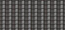 屋顶瓦片素材