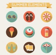 夏季元素包装设计