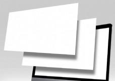 苹果mac电脑空白模版