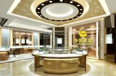 信陽中國黃金效果圖