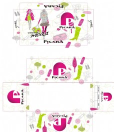 PICARA 时尚女鞋盒设计