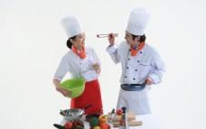 男厨师  女厨师