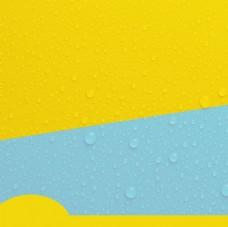 水珠質感大氣聚劃算直通車主圖圖