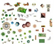 园林景观设计平面效果图