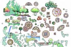 园林设计手绘效果图
