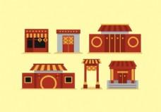 自由中国城镇载体