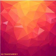 紅色三角幾何背景