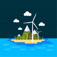风力发电机矢量