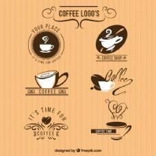 一家咖啡店的六个标志