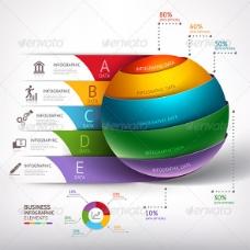 AI设计-现代信息圈球模板