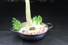韩国火锅面图片