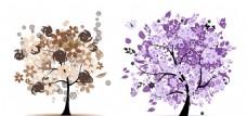树木无框画 春夏秋冬