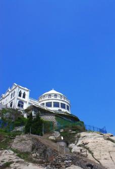 海邊建筑圖片