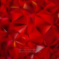 红色低聚背景