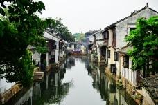 江苏苏州水乡周庄风景