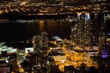 美国纽约夜景