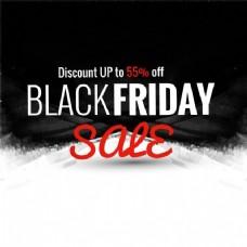 黑色星期五销售背景