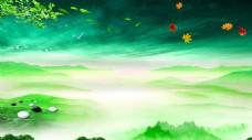 高山云海意境风景