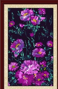 花卉油画装饰画无框画