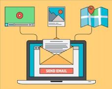 电脑彩色邮件图片