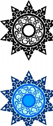 古典瓦当花纹