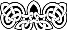 凯尔特人的装饰品 花纹矢量元